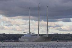 Découvrez le sailing yacht A, l'un des plus grands yachts à voile du monde