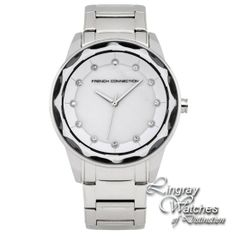 3a5a4b2b3c8 FCUK Ladies Stainless Steel Dani Watch - FC1147SM RRP: £89.00 Online price:  £