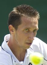 Sergiy Stakhovsky def.Carlos Berlocq in 3 sets,1st round