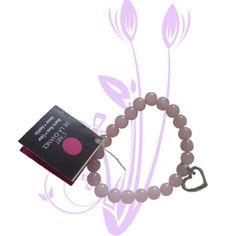 """""""Bracelet Art de la chance Quartz Rose""""  Pierres semi-précieuces et de porte bonheur plein de sens. Amour-Amitié"""