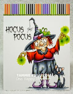 One Happy Stamper...: HOCUS POCUS