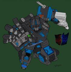 Nemesis Prime by ~commanderlewis on deviantART