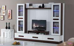 Tv Cupboard Design, Tv Cabinet Wall Design, Tv Wall Design, Pantry Design, Living Room Tv Unit Designs, Wall Unit Designs, Living Room Sofa Design, Bedroom Bed Design, Wardrobe Laminate Design