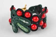 Handmade Designer Soutache Bracelet with Natural Stone Beautiful Gifts for Women | eBay
