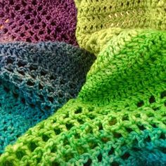 Was supposed to finish this morning but gardening got in the way #crochet #crocheted #crocheting #crochetshawl #handmade #handcrochet #spring #shawl #springshawl #colours #crochethat #spring by urbanhook