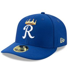 Men s Kansas City Royals New Era Royal 2019 Batting Practice Low Profile 59FIFTY  Fitted Hat 1e8db64aa