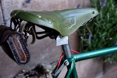 Vintage French Randonneur bicycle vélo mysterious address plaque Switzerland