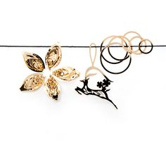 Charming 8 Gold Set Of 3