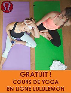 Cours de yoga gratuit avec Lululemon