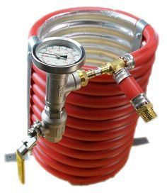 "The ""ExChilerator"" Counterflow Wort Chiller"