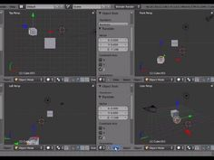 Tutorial Blender 3D 2.5 - Corso di base - 03: universo riferimento persp ortho global local - #BasiModellazioneEAnimazione #Blender #Blender3D25 #CorsoBlender #InterfacciaGrafica #LezioniBlender #Redbaron85 #Videotutorial http://wp.me/p7r4xK-cO