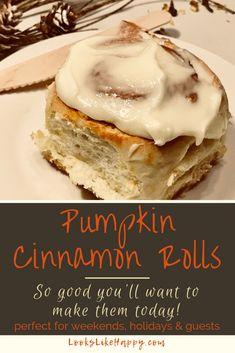 Pumpkin Cinnamon Rol