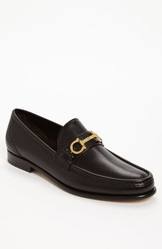Salvatore Ferragamo 'Twirl' Bit Loafer available at Nordstrom Bit Loafers, Loafer Shoes, Loafers Men, Gentleman Shoes, Salvatore Ferragamo Shoes, Hot Shoes, Shoes Men, Mens Fashion Shoes, Gucci Men