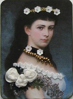 Elisabeth, Amalie,Eugenie van Oostenrijk..atc 44 by ATC Riet, via Flickr