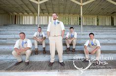 groom groomsmen laidback