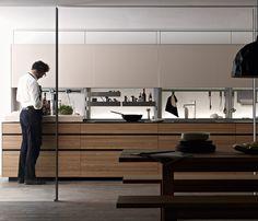 Kitchen Cabinets - New Logica System / Valcucine