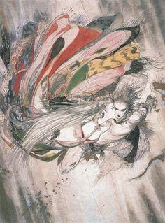 Art by Amano Yoshitaka. (Click to view larger image).