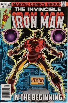 Iron Man 1968 1st Series 122 May 1979 Issue  Marvel by ViewObscura, $4.00