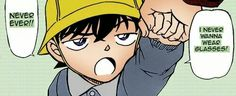 (laughs on the inside) ohh small shinichi, you make me laugh