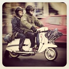 Lambretta GP/DL its white so it must be a 125 or 150