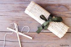 DIY: estuche organizador con palillos chinos