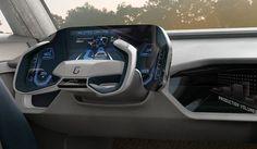 Car Interior Sketch, Car Interior Design, Car Ui, Futuristic Cars, Car Tuning, Dashboards, Car Detailing, Concept Cars, Luxury Cars