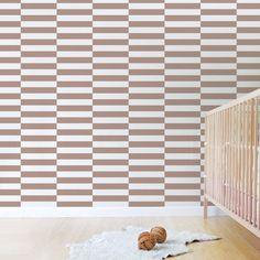 Trendy Peas: Wallpaper, Art & Custom Decor for Nurseries. Cool wallpaper!