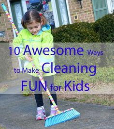 kids cleaning ideas