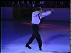 One of the most original skating routines ever! Gary Beacom skating to I'm Your Man by Leonard Cohen