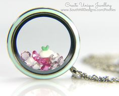 South Hill Designs - New Cupcake & Mint Locket