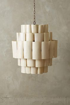 Banana Leaf Chandelier - anthropologie.com