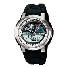 Casio Original Marine Out Gear Thermometer Authentic Men Accs Watch AQF-102W-7B #Casio #Sport