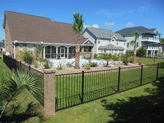 WamBam Fence | Slim Jim Aluminum Fence