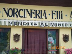 Norcineria Norcia, Italy
