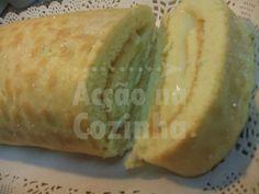 Torta de Limão c/ Recheio de Baunilha