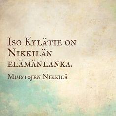 Poiminta kyselystä Plock från enkäten #muistojennikkilä #isokylätie #storabyvägen #nikkilä #nickby