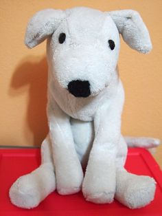 Puppy Plush from an old Bath robe - adorable - full pattern for free here.