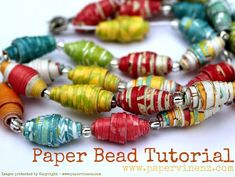 I'm not sure what the challenges are in your life, but I hope one of them is what to do with your leftover scraps of craft paper. Because if that does happen to be one of your challenges, I have the perfect tutorial for you – Lowri's paper beads. Her process is easy to follow... Read More »