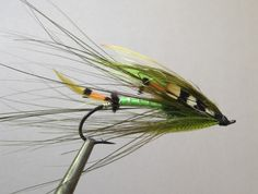 Green Highlander Spey - Atlantic Salmon Spey Fly