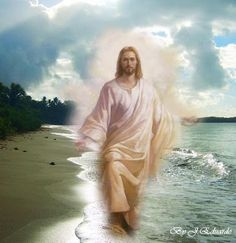 Jesus Appears in Dreams, Conversions and Testimonies (video) - Who are seeing Jesus Christ in visions? Middle East evangelists report the dreamers r coming 2 Christianity because of their visions of Jesus. Watchwoman on the Wall Image Jesus, Jesus Christ Images, Jesus Art, King Jesus, Jesus Is Lord, Jesus Pictures, Beach Pictures, Jesus Pics, Religious Pictures
