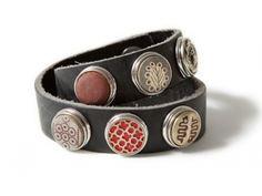 NOOSA armband dubbel antique black : Jewelz en More