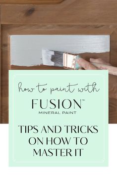 I'll be honest with you, there's no such thing as no-prep paint. There is no single paint that can stick to every surface without analyzing that surface first. However, prep doesn't always mean completely stripping a piece down to the bare wood. #paintitbeautiful #fusionmineralpaint
