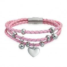 Pink Hearts Bracelets | Shop Bling Jewelry