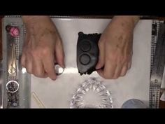 TupeloDesignsLLC DT Project - Faux Lava Rock Men's Bracelet - YouTube