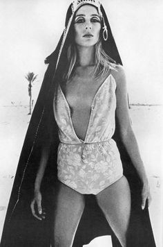 Jill Kennington by Helmut Newton, UK Vogue April 1966