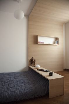 wood bed frame and wall! I have no idea why I love this so much!!!