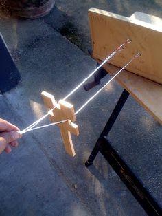 Teacher Tom: A Rope Making Machine. Tuesday, july 27, 2010