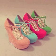 shoes in every color! #brayola