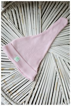 are created and suitable for spring, autumn and cooler summer. are made of merino wool fiber which is not sheer but warm at the same time Newborn Hats, Newborn Outfits, Baby Hats, Hospital Bag Essentials, Pastel Outfit, Elf Hat, Baby Bonnets, Pink Hat, Organic Baby Clothes