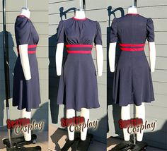 Agent Carter's Blue dress from Season 2 made by Seattle Cosplay $439.55 on etsy